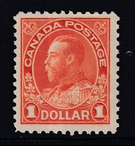 """CANADA 1925 MINT VLH #122, KING GEORGE V """"ADMIRAL"""" ISSUE !! D11A"""