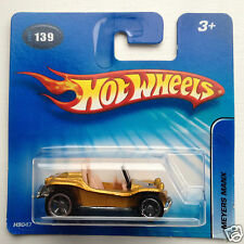 Hot Wheels VW Meyers Manx Beach Buggy - gold