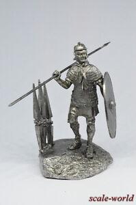 Tin soldier, figure. Rome. Legionary 54 mm