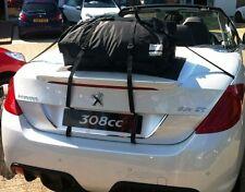 PEUGEOT 308CC portaequipajes maletero horquilla soporte boot-bag ORIGINAL