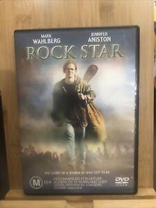 ROCK STAR DVD   REGION 4 MARK WAHLBERG - JENNIFER ANISTON Rare Dvd