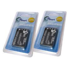 2x New Li-ion Battery NP-60 for Fujifilm Casio NP-30 HP L1812A Kodak Klic-5000