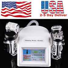 8 in 1 Cavitation Vacuum Anti-aging Multipolar Tripolar RF BIO Hammmer Head USA