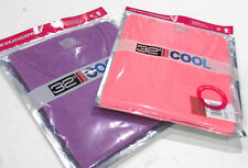 2x Weatherproof 32 Degrees Cool T-Shirt - Ladies Wicking Running Top Small New