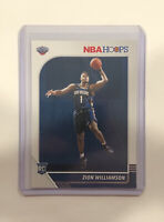 2019-20 Panini NBA Hoops Zion Williamson #258 RC Rookie - *MINT* Get Graded!📈📈