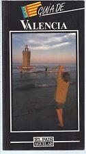 Guía de Valencia. El País. Aguilar. 1992 Guide of Valencia. The country