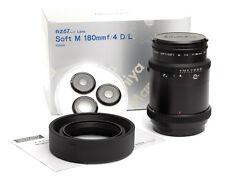 Mamiya Soft M 180mm f4 D/L per RZ 67 PROII pro2 Inc. 19% VAT. NUOVO/NEW