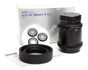 Mamiya Soft M 180  SF 180mm VSF f4  D/L für RZ 67 ProII  Neu  / NEW