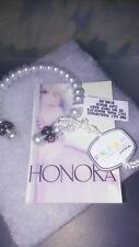 BABY HONORA OPAQUE FINE CULTURED PEARL CUFF BRACELET/FINE JEWELRY