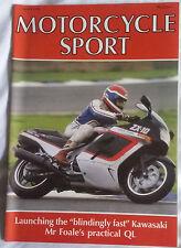 Motorcycle Sport MCS March 88 : GPZ500S : ZX-10 : Quoal QL : Morinis :M Vangucci