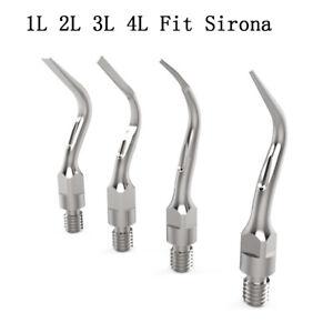Dental Ultrasonic Scaler Tip Sirona Style Tip 1L 2L 3L 4L Fit Sirona Handpieces