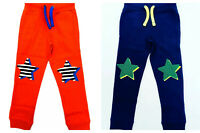 Boys Joggers Jogging Sweatpants Star Knees NEW Ex Boden Age 3-12 Years RRP £28