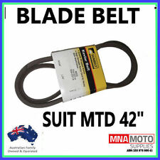 "BLADE CUTTER  BELT SUITS 42"" MTD RIDE ON MOWERS OEM 754-0371A 954-0371A  KEVLAR"