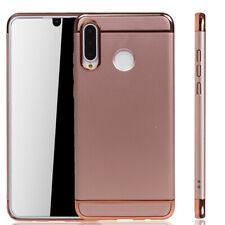 Huawei P30 lite New Edition Hülle Case Handy Schutz Tasche Schutzhülle Etui Pink