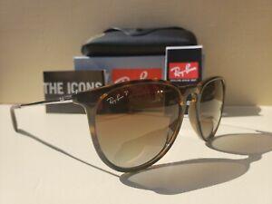 Ray-Ban Erika Classic Tortoise Sunglasses RB4171 865/13 54-18