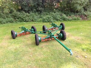 Tow Behind Gang Mowers, Ransomes mk10  Good Working Order just serviced