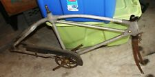 Very Rare Monark Silver King Aluminum bicycle Frame with extras ! !