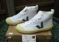 Ladies Veja Trainers Nova HT Canvas White Butter Sole Trainers, Shoes UK 4 BNIB