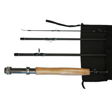 LEO Fly Rod 9ft 3/4/5/6/7/8WT Graphite Fast Action Fly Fishing Rod Trout 4 Piece