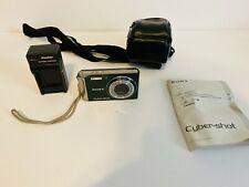 Sony Cybershot DSC-W370 Digital Camera Point & Shoot with Manual & Case - Green