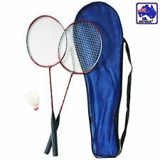 2 Players Badminton Set 2 Racquets Rackets & Shuttlecock&Bag Training OBADM 1235