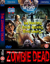 The Zombie Dead - Cult Classic Horror Movie DVD