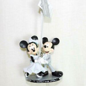 Figur Ornament MICKEY & MiNNIE * Happily ever after * Hochzeit DISNEYLAND PARIS