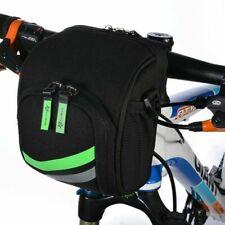 ROCKBROS MTB Folding Bike Front Bag Cycling Frame Handlebar Bag with Rain Cover
