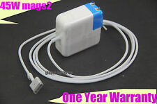 45W T-tip AC Adapter Charger A1436 A1465 A1466 For Apple MacBook Air Magsafe 2