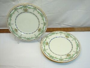 """4 Royal Doulton The Ormonde 9"""" Luncheon Plates Fine China Lunch"""
