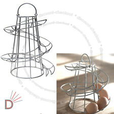 Spirale oeuf saving titulaire détient 18 oeufs swirl stockage cuisine twist stand ukdc