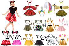Girls WORLD BOOK DAY Costumes ANIMAL FANCY DRESS Skirts and Accessories