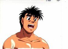 HAJIME NO IPPO - FIGHTING SPIRIT Japanese animation cel w/douga A8