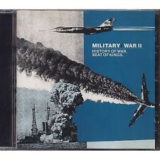 Military / War II - History of war, Seat of kings - CD 1990 NEAR MINT CONDITION