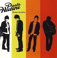 PAOLO NUTINI these streets (CD album) acoustic, soft rock, pop rock, indie rock