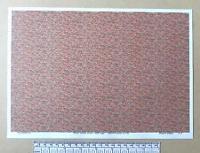 "OO/HO gauge (1:76 scale) ""Multi colour brick-with age"" -  paper- A4 sheet"