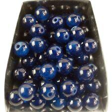 30Pcs 6mm round dark blue jade gemstone spacer loose beads stone abd bd045