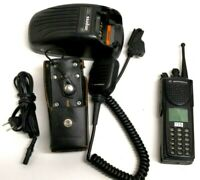 Motorola XTS3000 MII 800Mhz Radio  Antenna Battery Charger Speaker Mic Holster