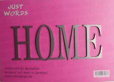 Schriftzug HOME aus Metall Shabby Chic als Geschenk für die Ewigkeit