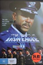 IRON EAGLE II 2 RARE DELETED OOP REGION 4 DVD CULT FILM LOUIS GOSSET JR.