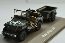 JEEP WILLYS MB - ATLAS 1/43