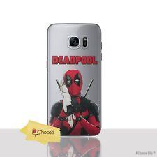 Deadpool Funda/funda Samsung Galaxy S7 (g930) / protector de Pantalla/unicornio