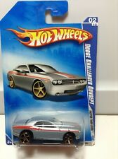 HOT WHEELS MUSCLE 2009 FASTER THAN EVER  DODGE CONCEPT GRAY/SILVER
