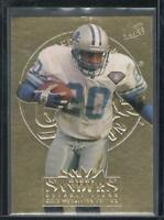 Barry Sanders 1995 Fleer Ultra Gold Medallion Card #107 Detroit Lions