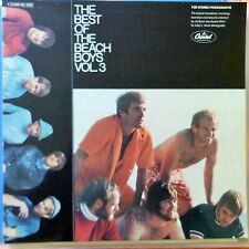 THE BEACH BOYS LP THE BEST OF VOL.3 - GERMANY VG++/EX