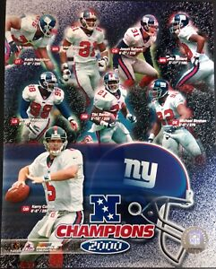 New York Giants 2000 NFC CHAMPIONSHIP COMPOSITE 8x10 Photo #1