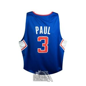 Chris Paul Autographed Los Angeles Clippers Custom Basketball Jersey Steiner COA