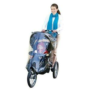 Jeep Jogging Stroller Weather Shield, Baby Rain Cover, Universal Size to fit