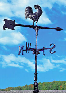 "Whitehall 30"" Accent Rooster Weathervane Includes Roof Mount - Ships in 3 Days!"