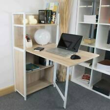 Wood top Desk in Light Oak Accord Concept CED-102 Compact Folding FREE UK